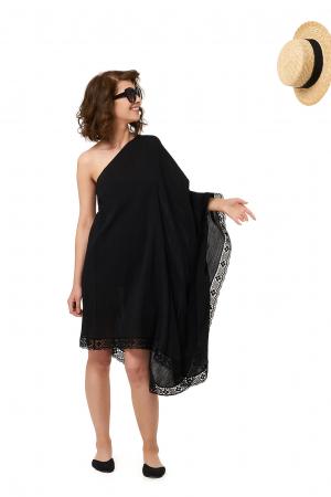 Rochie de plaja din panza topita Paloma2