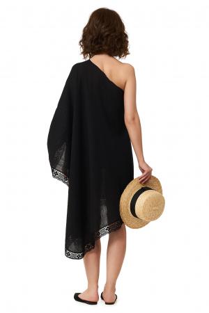 Rochie de plaja din panza topita Paloma1