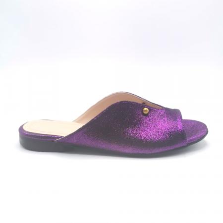 Saboti dama din piele naturala Dia Purple [0]