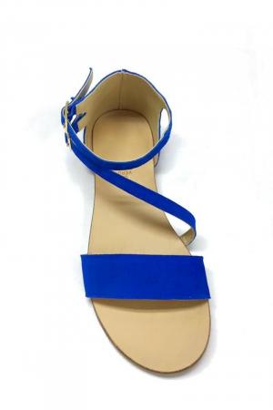 Sandale dama din piele Electric Blue Anna1
