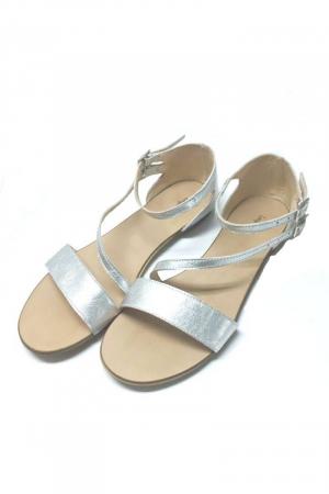 Sandale dama din piele Silver Anna1