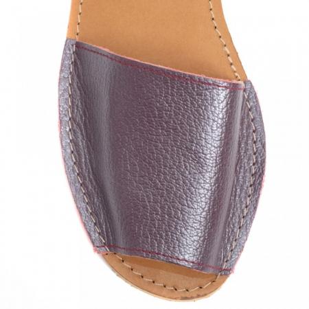 Sandale dama tip Avarca Bordo Sidef