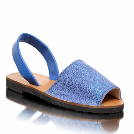 Sandale dama tip Avarca Electric Blue