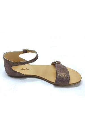 Sandale de dama din piele Ada Bronzo2