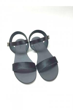 Sandale de dama din piele Black Pony Fanny3