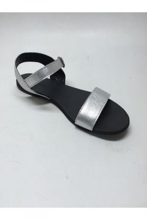 Sandale de dama din piele Silver Fanny3