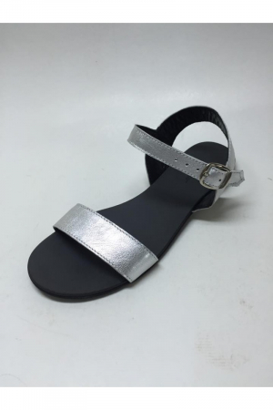 Sandale de dama din piele Silver Fanny2
