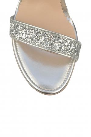 Sandale Mihai Albu din piele High Silver Glitter3