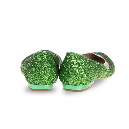 Balerini Mihai Albu din piele Emerald Glamour [1]