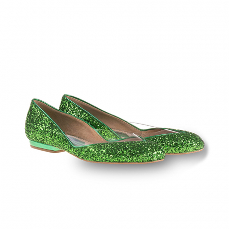 Balerini Mihai Albu din piele Emerald Glamour [0]