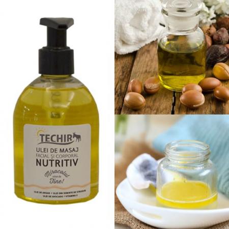 Ulei nutritiv pentru masaj facial si corporal1