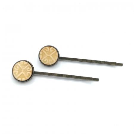 Set agrafe din lemn model traditional 03
