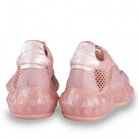 Sneakersi Mihai Albu Pink Diamond din piele naturala2