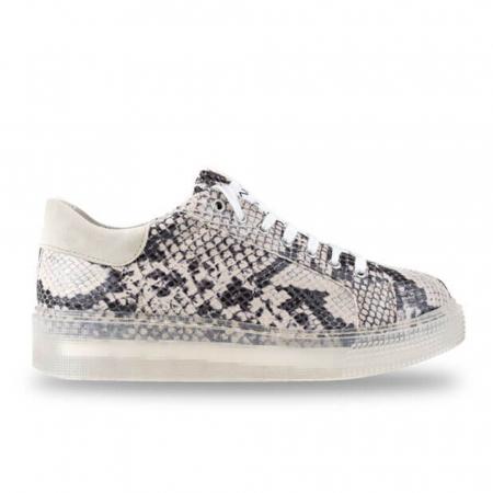 Sneakersi Mihai Albu Python din piele naturala0