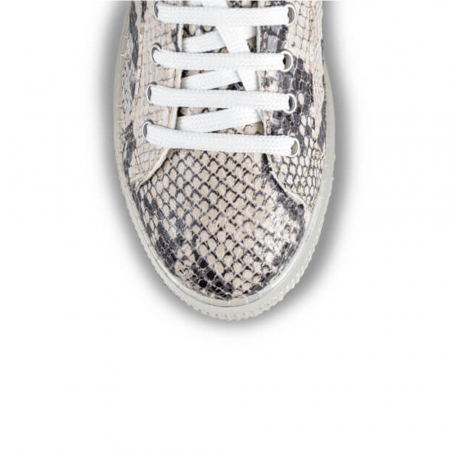Sneakersi Mihai Albu Python din piele naturala3