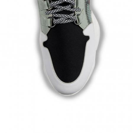 Sneakersi Mihai Albu Wild Green din piele naturala3