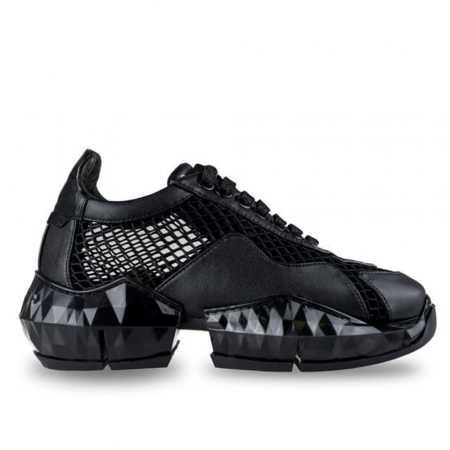 Sneakersi Mihai Albu Black Diamond din piele naturala0