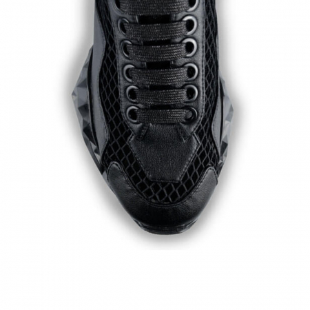 Sneakersi Mihai Albu Black Diamond din piele naturala3