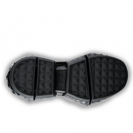 Sneakersi Mihai Albu Black Diamond din piele naturala, 374
