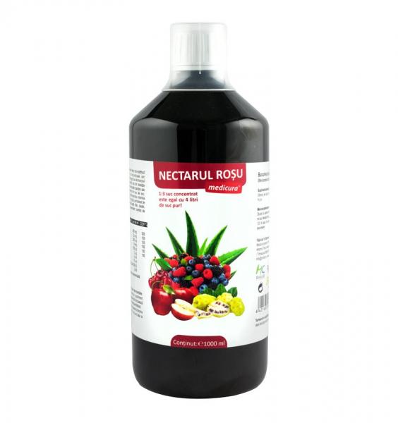 Nectarul Rosu Imunitate 1000 Ml 0