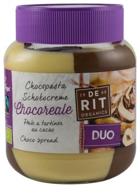 Crema de Ciocolata BIO DUO cu Alune 350 gr (Vegetariana) [0]