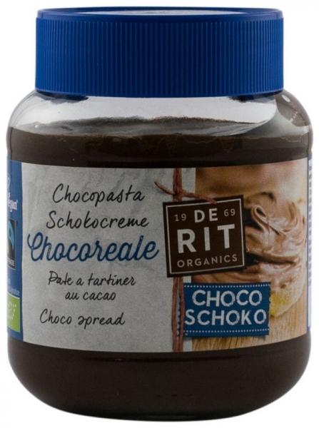 De Rit – Crema BIO de ciocolata cu cacao, 350g Vegan si Fairtrade 0