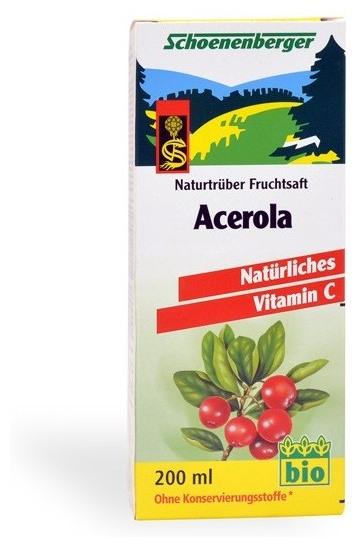 Acerola bio Schoenenberger 200 ml [0]