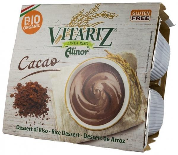 Desert BIO de orez cu cacao, 400 g 0