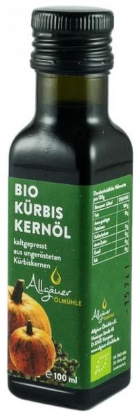 Ulei bio din seminte crude de dovleac, 100 ml 0