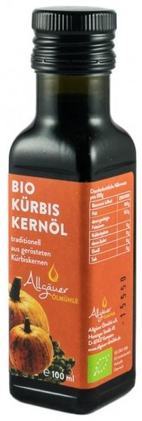 Ulei BIO din seminte de dovleac prajite, 100 ml [0]