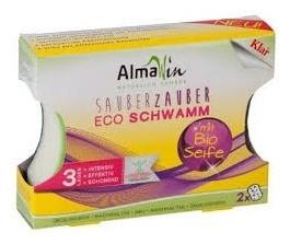 ALMAWIN - burete bio pentru spalat vase, 2 buc [0]