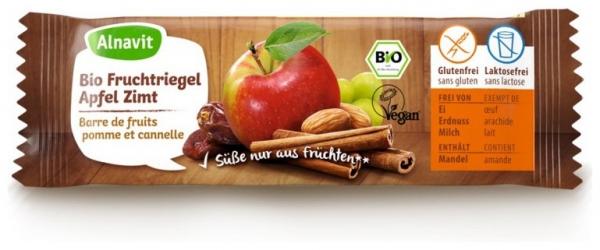 Baton din fructe cu mere si scortisoara BIO  40g [0]