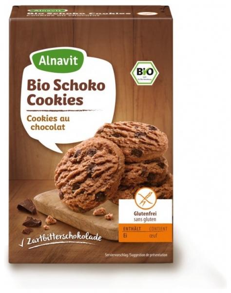 Biscuiti BIO cu Ciocolata fara faina de grau, fara gluten 125 gr 0