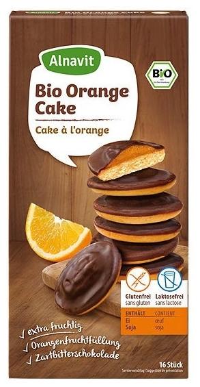 Biscuiti BIO cu jeleu de portocale fara faina, fara gluten 16 bc 100 gr 0