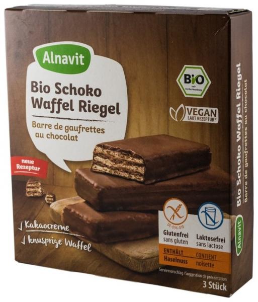 Napolitane BIO trase in ciocolata, 75 g 0