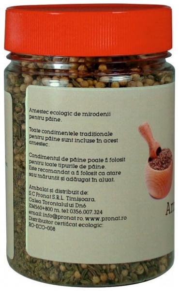 Amestec Bio de mirodenii pentru paine, 110g 1