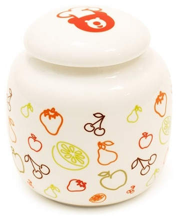 Aparat preparat iaurt Oursson FE1502D/IV, 20 W, 1 l, 5 recipiente ceramica, LCD, Functie fermentare, Timer, Alb [1]