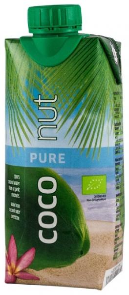 Apa de Cocos 100% BIO 330 ml Aqua Verde numai 19 calorii [0]