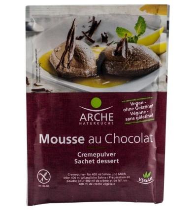 Arche Naturkuche - Mousse BIO de ciocolata, 78 g 0