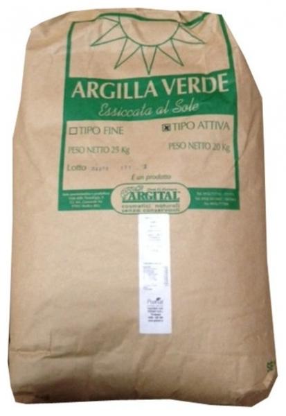 Argila Verde pentru Masti Cosmetice 25kg 0