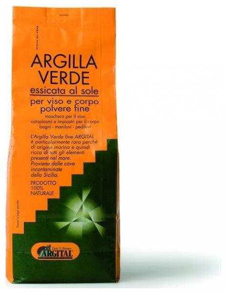 Argila verde pentru uz extern - pulbere fina 2,5 kg 0