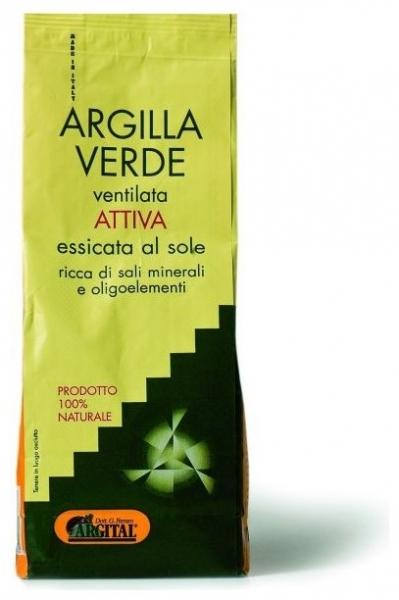 Argila verde activa ventilata pentru baut, 500 gr 0