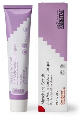 Crema exfolianta de violete non alergica, 75 ml 0