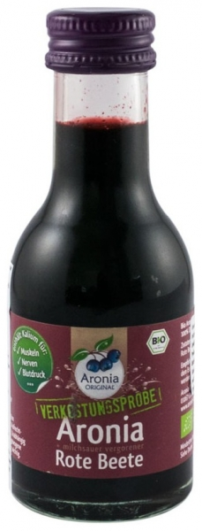 Aronia Original – Suc BIO de aronia cu suc de sfecla rosie lacto fermentat, 100ml [0]