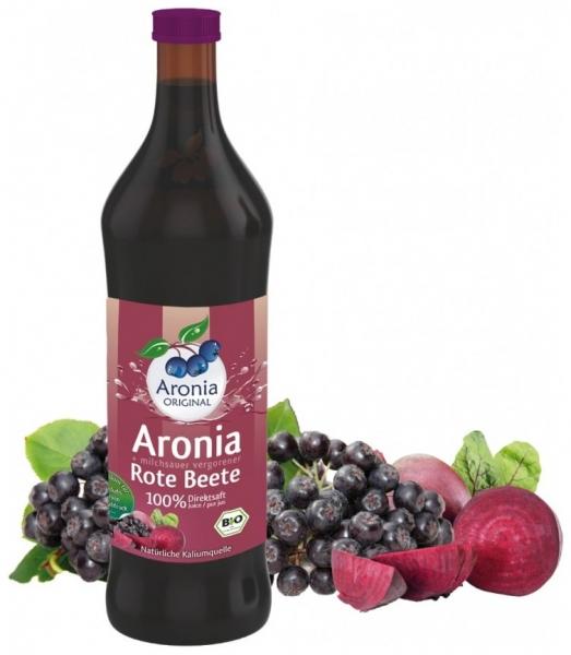 Aronia Original – Suc BIO de aronia cu suc de sfecla rosie lacto fermentat, 700ml [0]