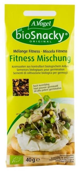 Mix fitness - seminte bio pentru germinare, 40g 0