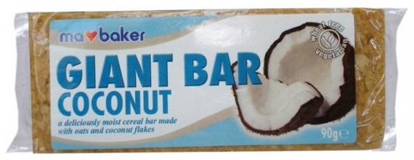 Baton de ovaz cu nuci de cocos 90 gr Ma Baker 0