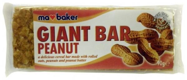 Baton din ovaz cu arahide 90 g Ma Baker 0
