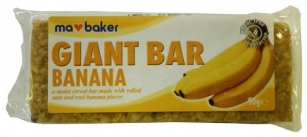 Baton din ovaz cu banane Ma Baker 90 g 0