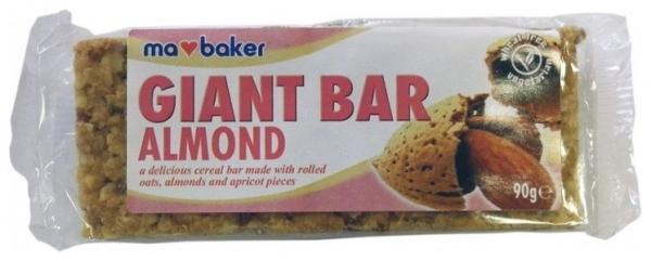 Baton din ovaz cu migdale si caise 90 g Ma Baker [0]